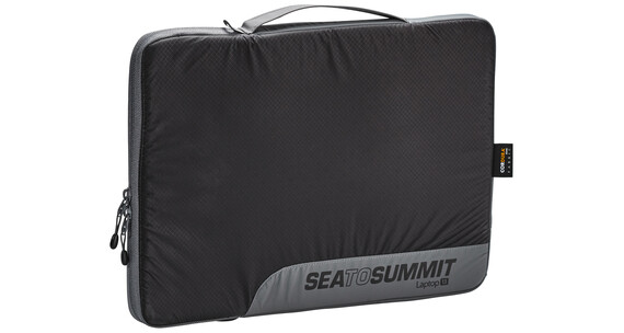 "Sea to Summit Travelling Light Laptop Sleeve 13"" black/grey"